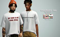 The Sims 4 Greenboxshop tees now 4 ur males by simchia Sims 4 Men Clothing, Sims 4 Male Clothes, Sims 4 Blog, Sims 4 Mm Cc, Sims 4 Cas, Sims 4 Cc Finds, The Sims4, Sims 4 Custom Content, Graphic Sweatshirt