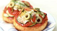 Crostini à la mozzarellaVoir la recette du Crostini à la mozzarella >>