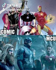 Damn, Captain Marvel it's exactly like in the comics Dc Comics Girls, Dc Comics Art, Marvel Dc Comics, Marvel Avengers, Marvel Films, Marvel Art, All Marvel Heroes, All Marvel Characters, Captain Marvel Shazam
