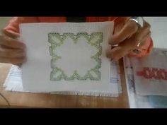 O ponto vagonite é ideal para os iniciantes no bordado, pois é um dos mais fáceis de fazer. Confira algumas dicas e tutoriais para aprender essa técnica. Swedish Weaving, Quilt Tutorials, Diy And Crafts, Quilts, Facebook, Ribbon Crafts, Tape Art, Hand Embroidery Stitches, Embroidery Stitches