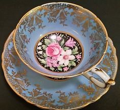Beautiful Paragon Cup and Saucer