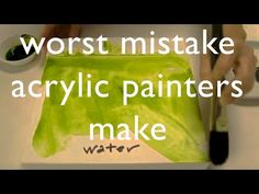 http://www.arts-fine.co.uk How to paint: using and mixing primary colours with acrylic paint on canvas. Using Cyan, magenta and Yellow to make every other co...