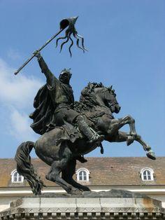 Guillaume-le-conquérant (Dit le bâtard) Née à Falaise 1027 et mort à Rouen le 9 septembre 1087 Duc de Normandie et Roi d'Angleterre.
