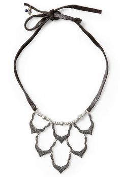 Pave bib necklace by Lucky Brand - amazing price on Piperlime!