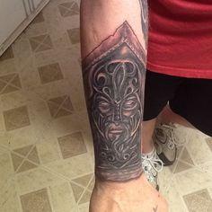 Viking Gauntlet Tattoo