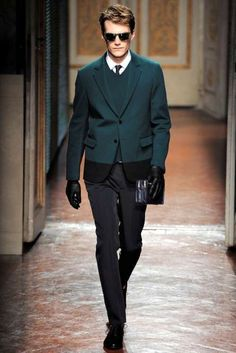 Valentino Man FW 2012 Collection is Subtle and Sharp #suits #mensfashion trendhunter.com