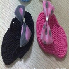 DIY Crafts : DIY  make slippers to help you get through hot summer