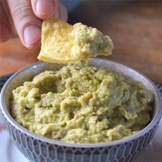 This guacamole makes a tasty dipping sauce that's actually good for your health. Best of all, it's super easy and quick to make.