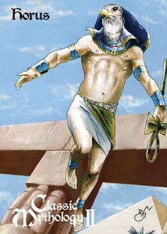 Horus Base Card Art - Gabe Hernandez by Pernastudios.deviantart.com on @deviantART