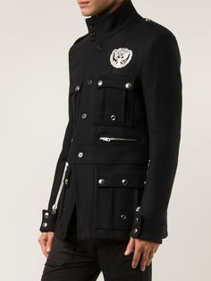 Diesel Black Gold Military Coat - David Lawrence - Farfetch.com