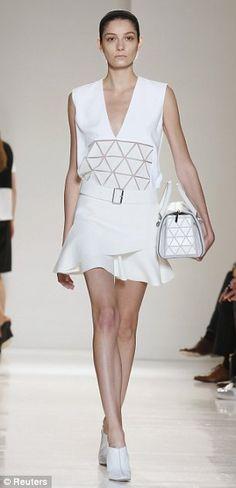 Victoria Beckham, NY Fashion Week 2013