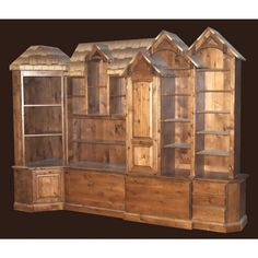 timber rustic entertainment centers and bookcases | Rustic Bookcase Dresser                                                                                                                                                     More