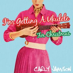 "The Next Great Christmas Novelty Song Has Been Released By Carly Jamison - http://www.okgoodrecords.com/blog/2014/12/09/the-next-great-christmas-novelty-song-has-been-released-by-carly-jamison/ -  Songwriter Carly Jamison has announced the release of her third Christmas single this year – ""I'm Getting A Ukulele For Christmas"". Written in the traditional of all great Christmas novelty records, it's a fun genre-defying song that celebrates the joys"