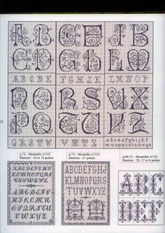 Gallery.ru / Фото #151 - Les belles lettres d'Alexandre - Mongia