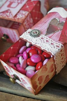 Matchbox Valentines for Sizzix