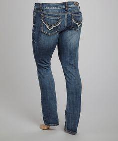 Berkley Straight-Leg Jeans - Plus #zulily #zulilyfinds