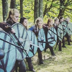 Viking Shield Maiden, Viking Warrior, Viking Woman, Viking Age, Viking Queen, Warrior Women, Vikings Show, Vikings Tv Series, Watch Vikings