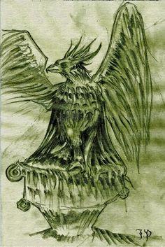 Großer Gryphos (Valianors Gott und Wahrzeichen) Moose Art, Animals, God, Animales, Animaux, Animal, Animais