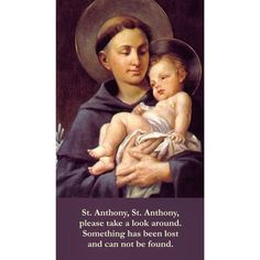 """""""Dear St Anthony, such a busy Saint :)."""""""