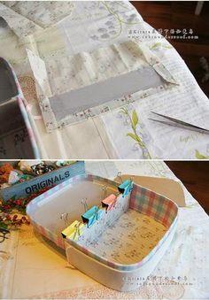 Maleta Retrô - Cartonage - DIY