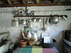 Amo minha cozinha velha