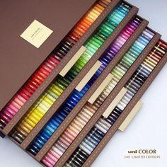 UNI-BALL MITSUBISHI Innovative 240 Pieces Color Pencil BOX