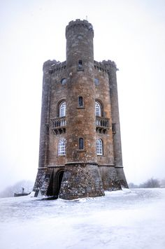 Broadway Tower, in the village of Broadway in Worcestershire, England - open for tours