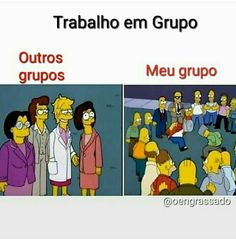 kkkkk é bem assim msm, meu grupo é o gp dos maloqueiro kkkk Bts Memes, Funny Memes, Jokes, Song Qoutes, Frases Humor, Icarly, How To Speak Spanish, Wtf Funny, The Simpsons