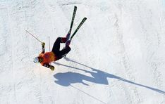 Canada's Chris Del Bosco was in a horrific crash during the men's ski cross competition at the 2018 Winter Olympics in South Korea on Wednesday.      The Montreal native was attempting a final push on the last jump in the hope of moving on to the quarter finals.        The 35-year-old went airborne on the final jump, landing hard on his right side. The freestyle skier was on the ground for several minutes before being skied off the course on a stretcher.