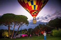 Hot air balloon at sunset   event, luxuria, kids, show, hot air balloon Saint Tropez, Cannes, Monaco, Cap D Antibes, Courchevel 1850, Kids Events, Paris, French Riviera, Bar Mitzvah