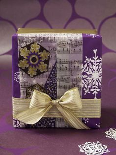 Geschenkverpackung für Weihnachten
