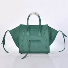 6fa312e1b3 Celine Phantom Luggage Bag Green Celine Handbags, Celine Bag, Bags Online  Shopping, Green