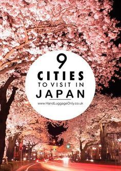 9 Very Best Cities In Japan To Visit Japan is a country that's so incredible to explore! From the stunning hiking trails, islands like Kyushu and the best cities in Japan to visit, there's a little slice of the country that I'm sure Kyushu, Places To Travel, Places To See, Travel Destinations, Japan Travel Guide, Asia Travel, Travel In Japan, Japan Guide, Tokyo Travel