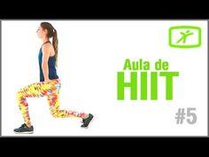 Aula de Hiit #7 - Treino para definir o corpo e perder gordura …
