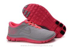 Siren Red Reflect Silver Wolf Grey Womens Nike Free 4.0 V2 51152