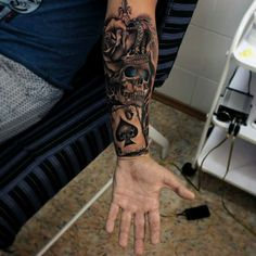 Vladimir Drozdov tattoo, love it