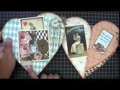 Guest DT Project for SaCrafters  Heart Shape Mini Album