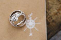 Round Cut Diamond Wedding Bands