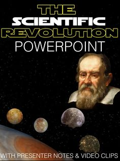 Scientific Revolution PowerPoint with video clips and presenter notes covers the scientists and their revolutionary contributions that changed the world forever. This short 10 slide Powerpoint is packed with beautiful graphics, engaging video clips and presenter notes that aid your understanding of each slide and can act as a cheat sheet for details you may forget.