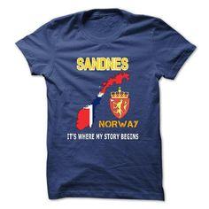 cool Team SANDNES T-Shirts - Design Custom Team SANDNES Shirts