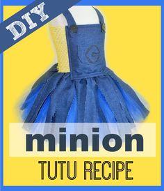ReecieDIY: How to make a Minion Inspired Costume Tutu Dress