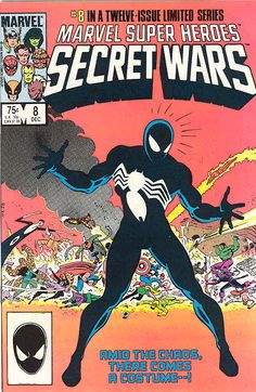 Secret wars 8 first appearance of the symbiote suit
