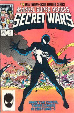 COMIC secret wars 8 #comic #cover #art