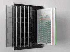 Clean Closet, o armário que lava, seca e guarda a roupa
