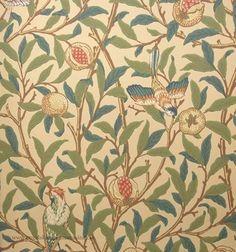 William Morris Bird & Pomegranate Tapet