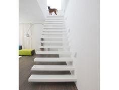 auskragende Treppe