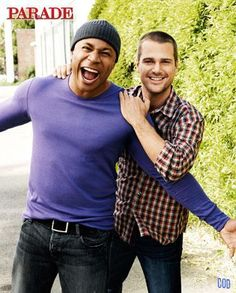 "Chris O'Donnell & LL Cool J. partners on  NCIS LA (LL as ""Sam"" and Chris as ""Callan"")"