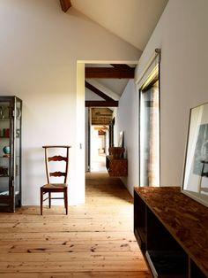 Hallway, Ochre Barn by Carl Turner Architects : Home Inspiration