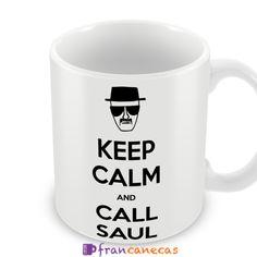 Caneca Personalizada Keep Calm and Call Saul   Francanecas.com