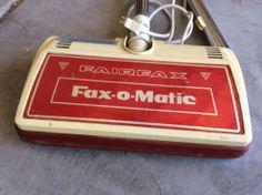 Vintage Fairfax vacuum cleaner Fax-O-Matic head